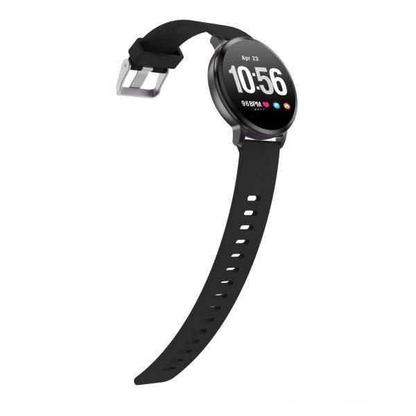 Смарт часовник Colmi V11 Fashion Plus, черен