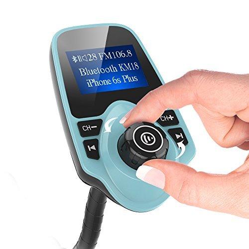FM трансмитер с Bluetooth, зарядно за кола, MP3 плеер - M2