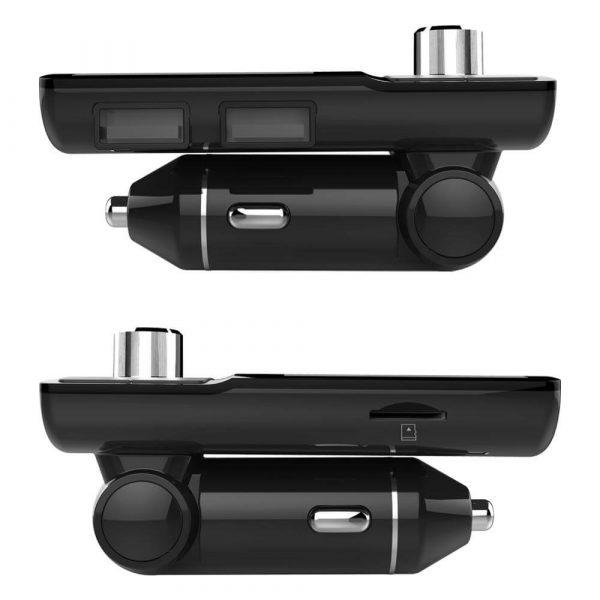 FM трансмитер с Bluetooth, зарядно за кола, MP3 плеер - BC45