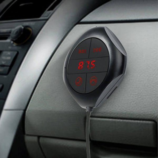 Bluetooth FM трансмитер с USB зарядно за кола, MP3 плеер - Q7S