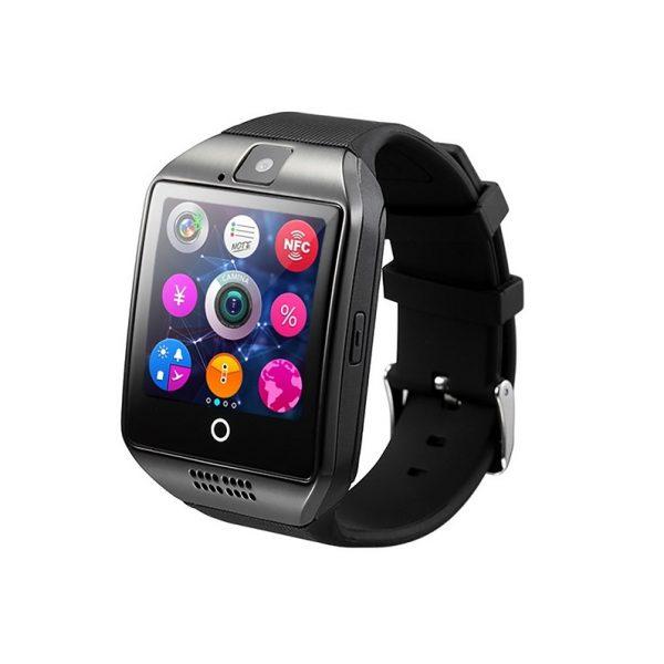 Смарт часовник Q18, черен