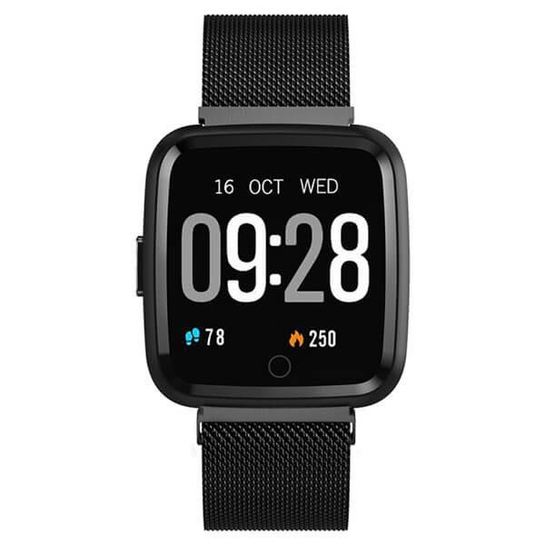 Смарт часовник Y77, черен