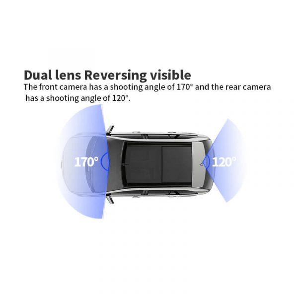 Видеорегистратор тип огледало за задно виждане DVR, 1080p - DY-H05