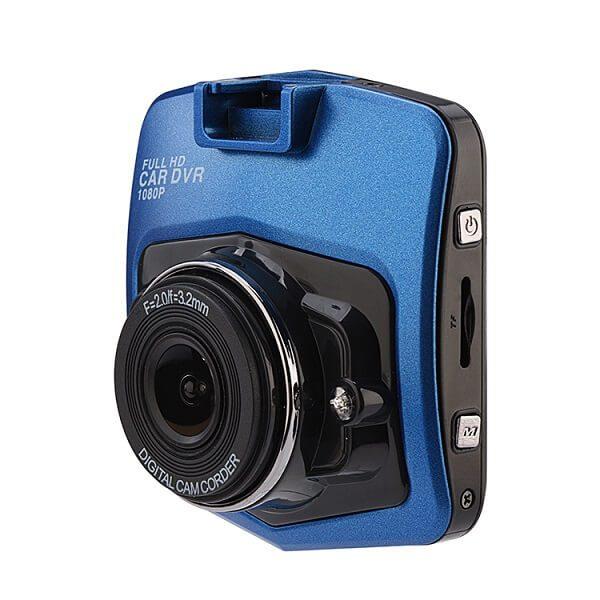 Full HD видеорегистратор за кола GT300 с функция WDR, син