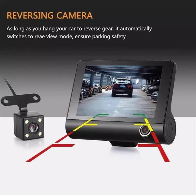 T319 - Full HD видеорегистратор с 3 камери и нощен HDR запис