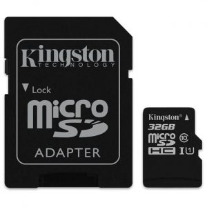 Карта памет Kingston microSDHC 32GB C10/UHS-I/U1