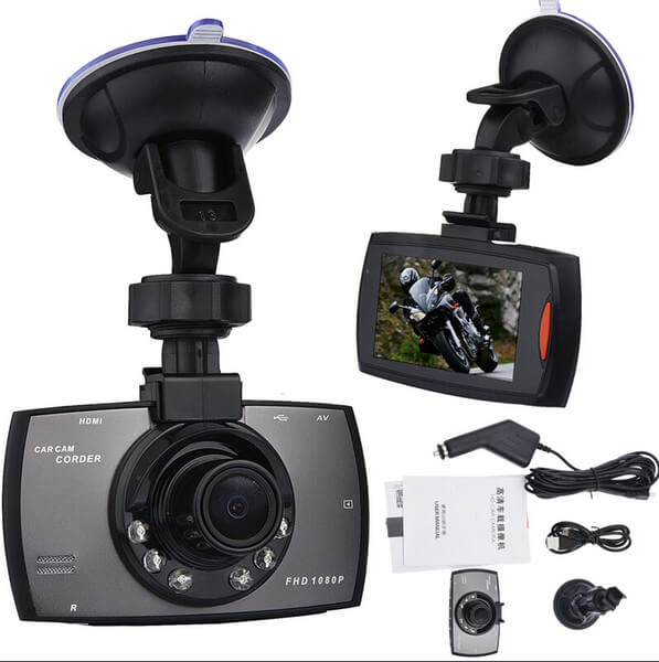 Камера за кола Novatek G30 96650 - Full HD 1080p, 5MP, G-Sensor