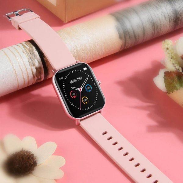 Смарт часовник Colmi P8, rose gold