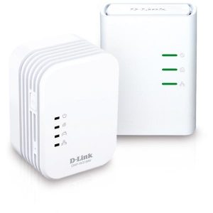 Безжичен Wi-Fi усилвател D-Link PowerLine AV 500 Wireless N Mini