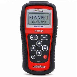 Konnwei KW808 - универсален уред за диагностика грешки в автомобила, OBDII EOBD CAN